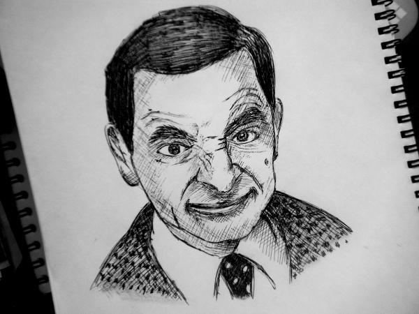 Rowan Atkinson por sofiiach